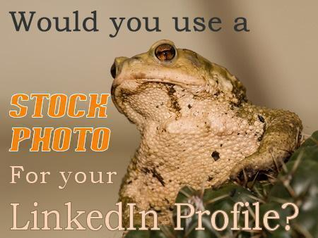 Would you use a Stock Photo for your LinkedIn Profile