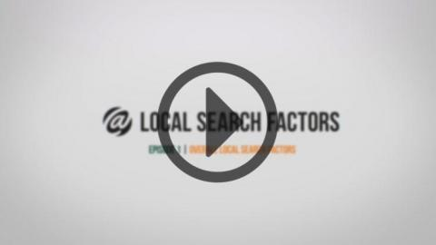 Local Search - Topic 1: Overall Local Search Factors
