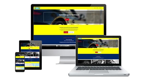Gateway Auto Rentals Website Design
