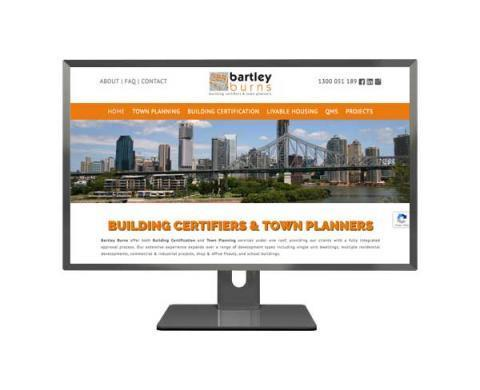 Bartley Burns Wordpress Web Design