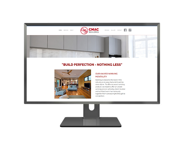 cmac wordpress web design