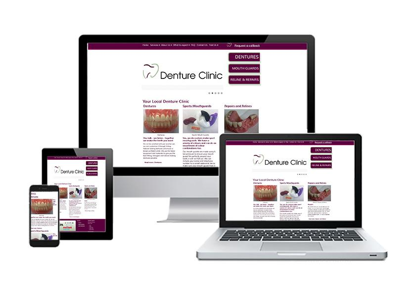 Tarragindi Denture Clinic Joomla Responsive Website Design