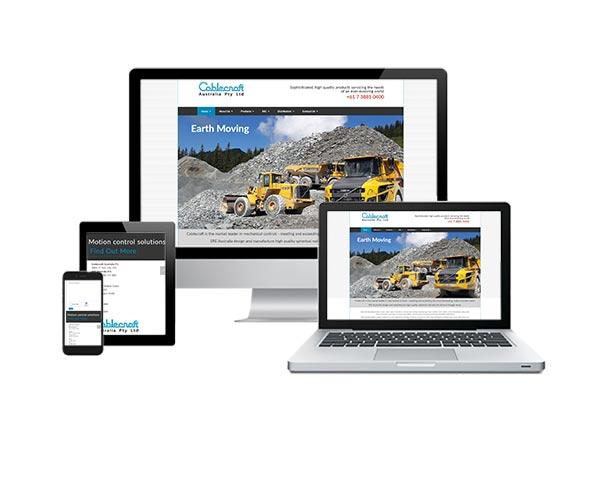 Cable Craft Australia Wordpress responsive web design
