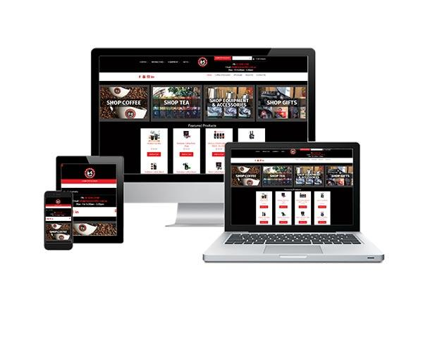 Chiasso Coffee ecommerce web design
