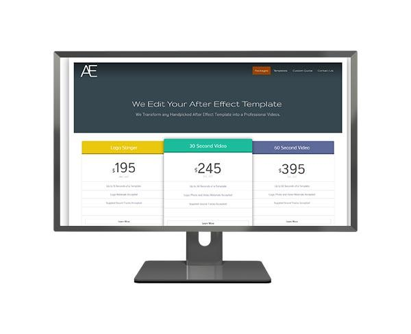 Edit my AE Template Responsive Web Design