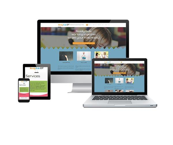 Ready Kids Mobile Responsive Web Design