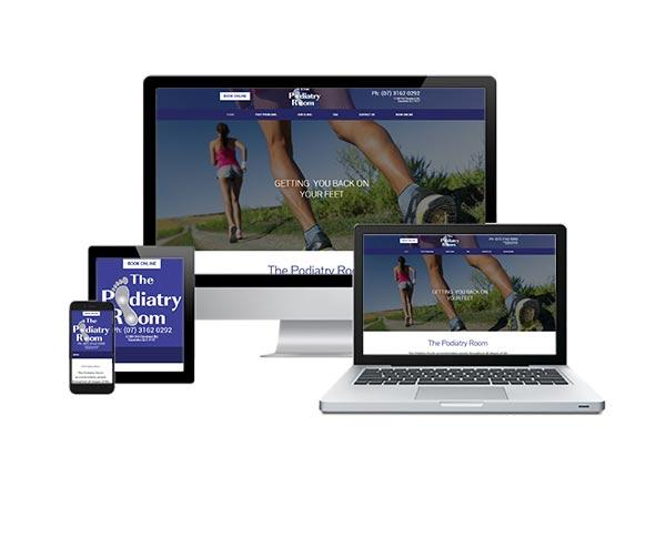 The Podiatry Room responsive web design