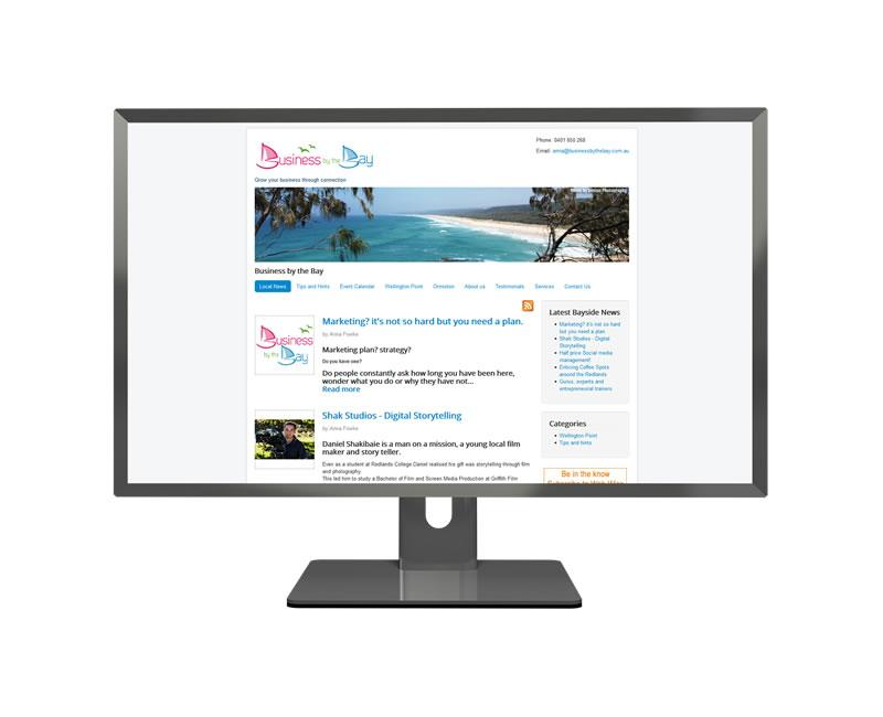 Business by the Bay Joomla Portfolio