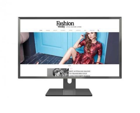 Fashion Weekly Custom Website Design