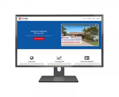 Selling the Redlands  - WebMatix website